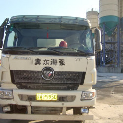 Eurosens Delta installation in the China truck