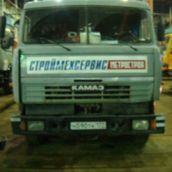 Kamaz truck : Fuel consumption monitoring