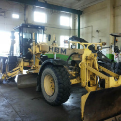 HBM road grader: Fuel consumption monitoring