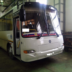 PAZ bus with Cummins engine: Fuel consumption monitoring